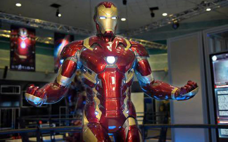 Iron-Mans-collection-of-MK-1-7-Suits