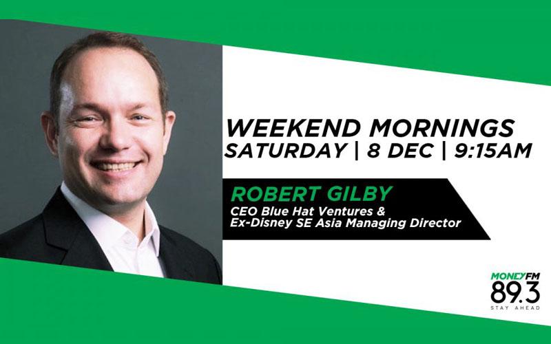 Weekend Mornings Robert Gilby